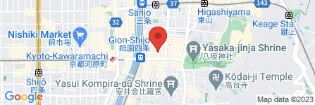 地図 くすりのヘルスライン祇園店