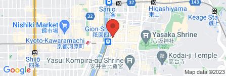 地図 京都祇園郵便局