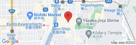 地図 祇おん千代