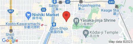 地図 祇園 縁家