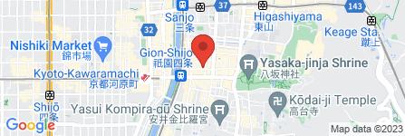地図 祇園 彩雅