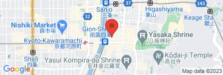 地図 祇園 まとゐ鮨