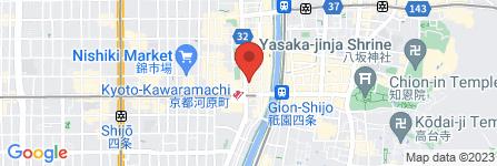 地図 エイブル 京都河原町店