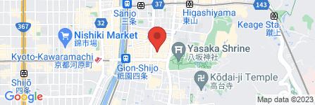 地図 割烹 ふじ原