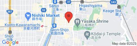 地図 祇をん 京小町