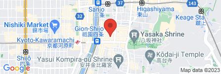 地図 祇園テナント案内所