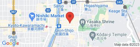 地図 祇園京都ラーメン