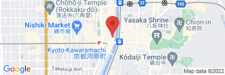 地図 お茶屋 楠本