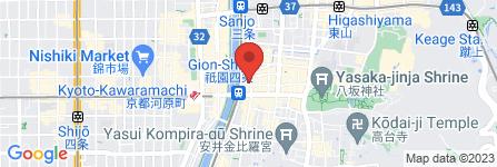 地図 アトランティス祇園店