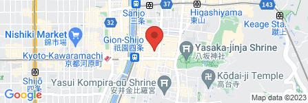 地図 祗園 MODENA