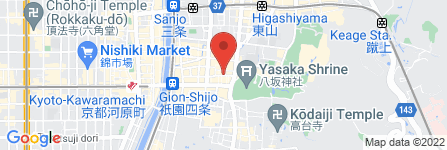 地図 鮨処音羽 京都東山店