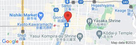 地図 京懐石 新家