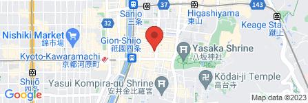 地図 祗園 じゅんこ