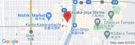 地図 京家 きよみず 木屋町