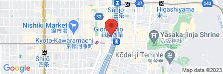 地図 眺河 先斗町 華