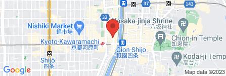 地図 芋蔵 京都木屋町店