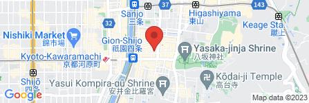 地図 祇おん 江口