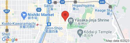 地図 リカーマウンテン 衹園国際通り店