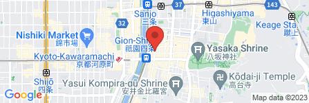 地図 祇園印房