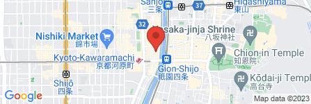 地図 京の魚 擔 KATSUGI