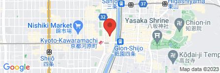 地図 大志亭 木屋町店