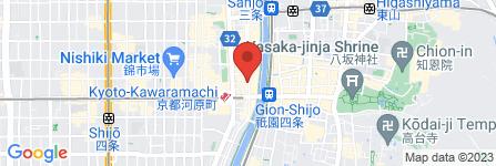 地図 鉄板居酒屋 高瀬川 鉄板道場