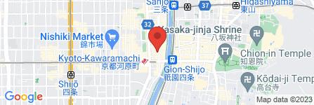 地図 おばんざい TATSUNOSUKE