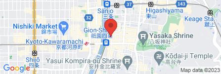 地図 祇園抹茶cafe