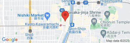 地図 魚作 河原町店