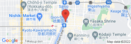 地図 Apples Doctor 祇園店