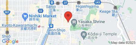 地図 株式会社 装和 祇園案内所