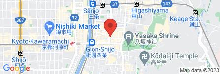 地図 祇園 ONE LOVE