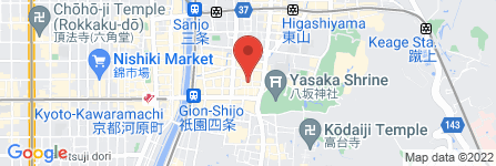 地図 酒のソクハイ 祇園中末吉町店