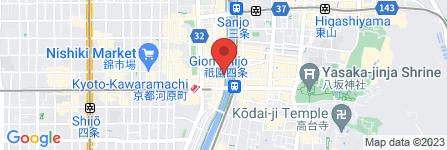 地図 韓国料理 先斗町 李南河