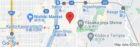 地図 Guest House しのび宿