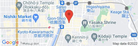 地図 祇園風雅