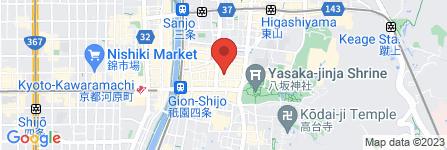 地図 祇園すがぬま