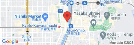 地図 戦国カフェ&バー 花の如く