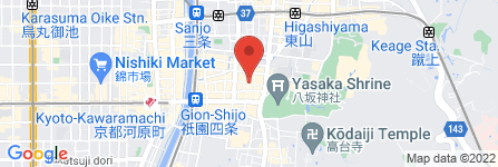地図 祇園お茶屋 中勇
