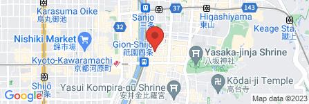 地図 祗園 Girl's Bar YOU