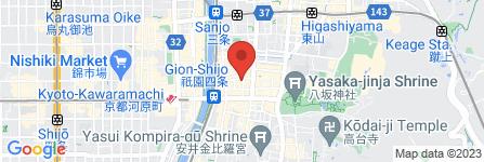 地図 Gion 蝶