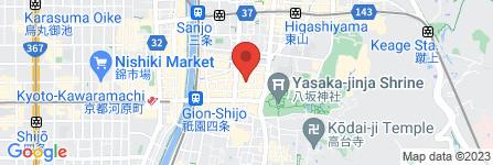 地図 京都 鍵華