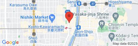 地図 京人形司 松屋