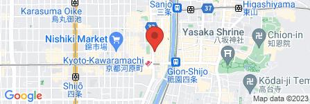 地図 ゆめみし 河原町店