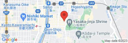 地図 祇園喫茶Rinken