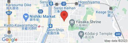 地図 観亀稲荷神社