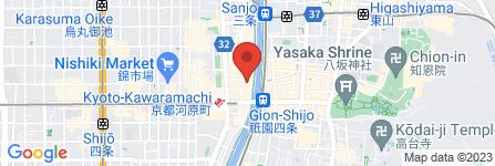 地図 一養軒