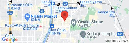 地図 祇園 まんま