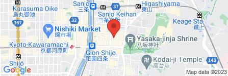 地図 祇をん ひつじカフェ