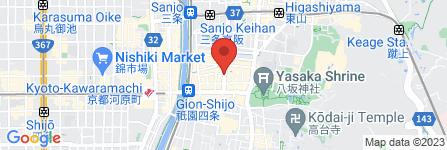 地図 BAR 祇園359